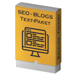 SEO-Blogs Textpaket