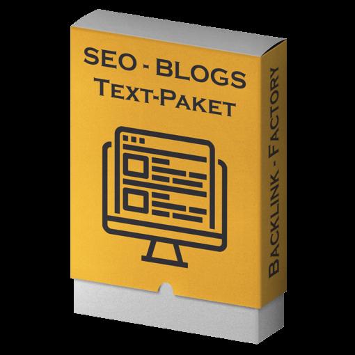 SEO-Blogs Textpaket