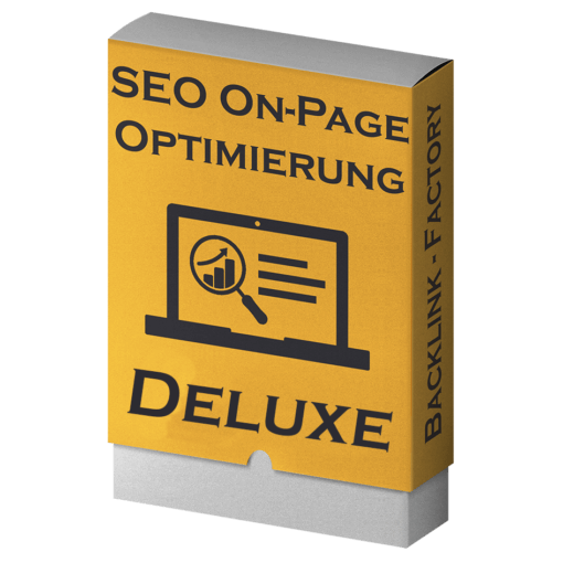 SEO On-Page Optimierung deluxe