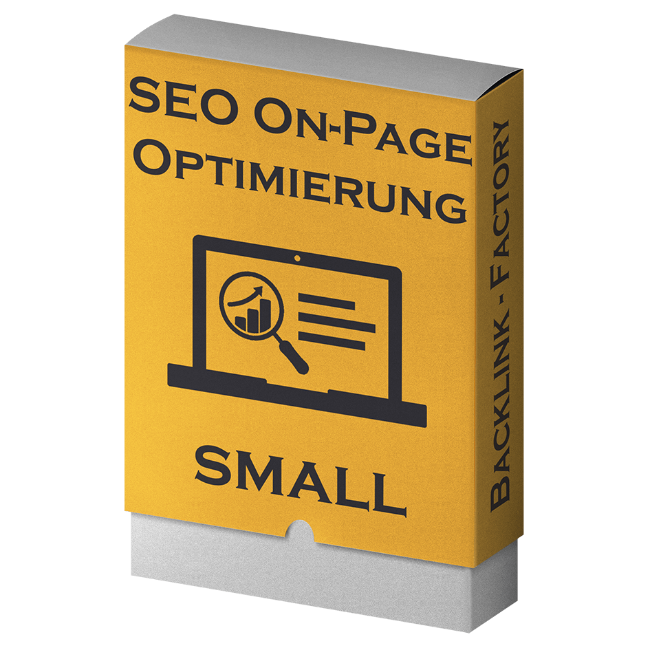 SEO On-Page Optimierung small
